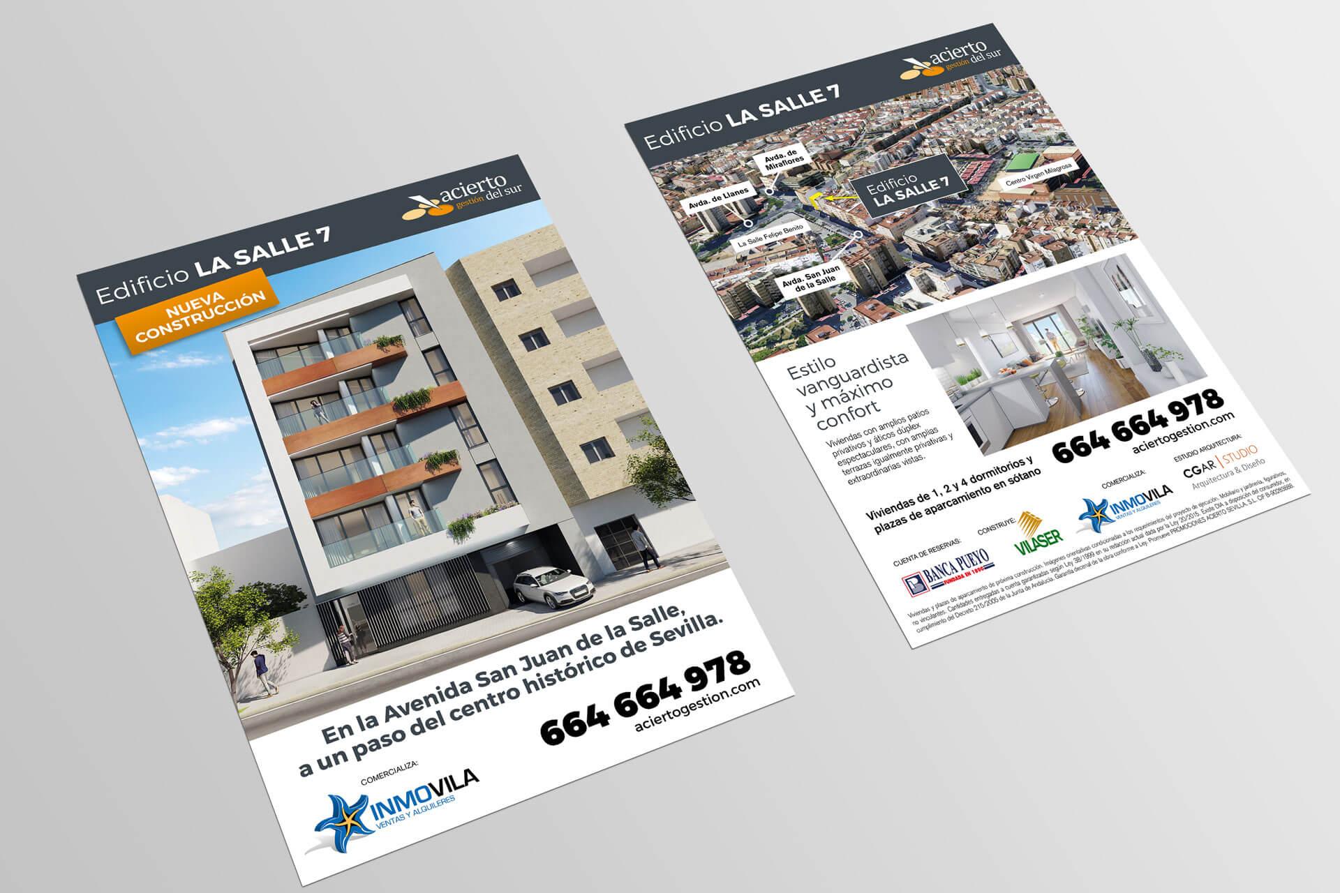 Flyer para Edificio La Salle7 Inmovila